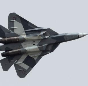 Stíhačka T-50 (PAK FA) – dvoumotorový stíhací letoun 5. generace
