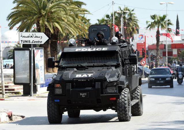 Operace silových struktur v tuniském muzeu