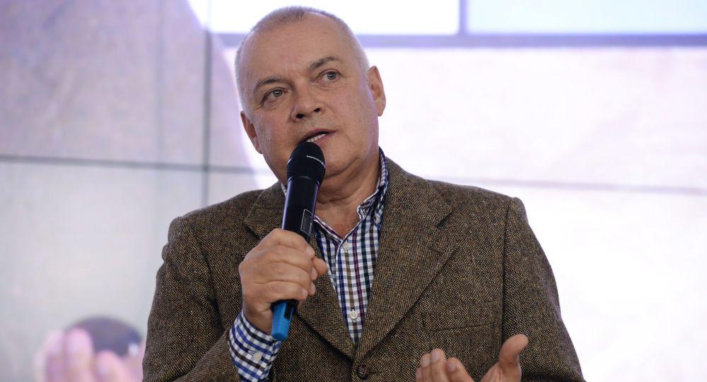 Generální ředitel MIA Rossia Segodnia Dmitrij Kiseljov