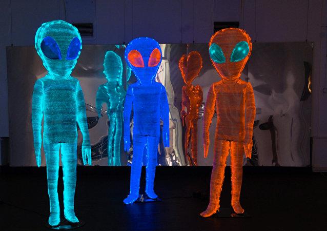 Kompozice Električtí mimozemšťané