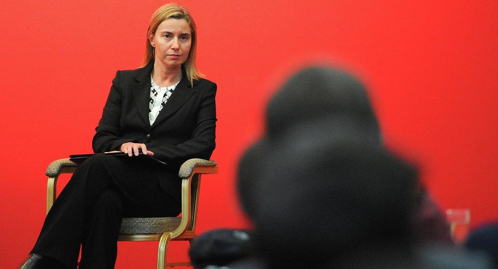Vysoká představitelka EU pro zahraniční a bezpečnostní politiku Federica Mogheriniová