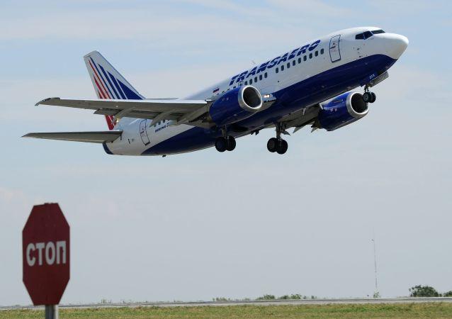 Letadlo společnosti Transaero