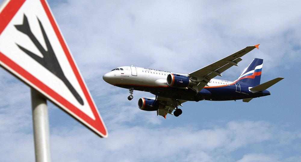 Letadlo Airbus A319 společnosti Aeroflot