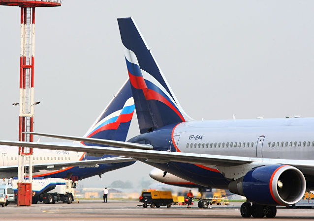 Boeing 767 společnosti Aeroflot