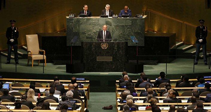 Vladimir Putin v OSN