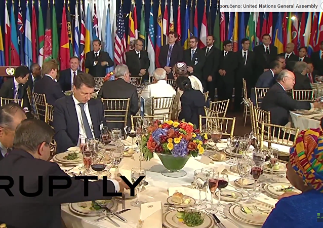 Putin, Obama a Pan Ki-mun relaxují v New Yorku