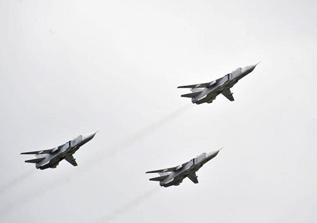 Bombardéry Su-24