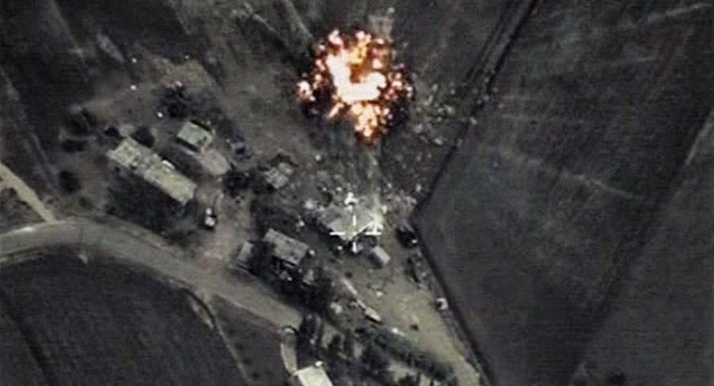 Letecké ůtoky Ruska v Sýrii