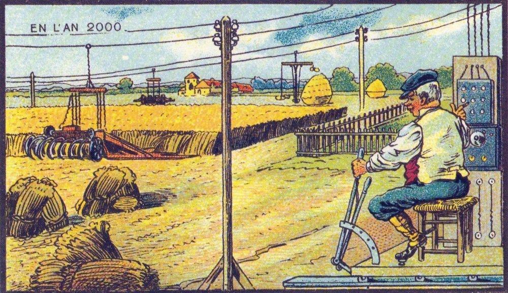 Bezpilotní stroje na sklizení úrody. Co si o tom myslíte?