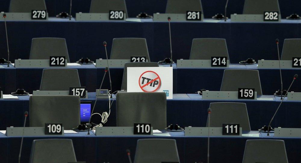 Štítek v Evropském parlamentu