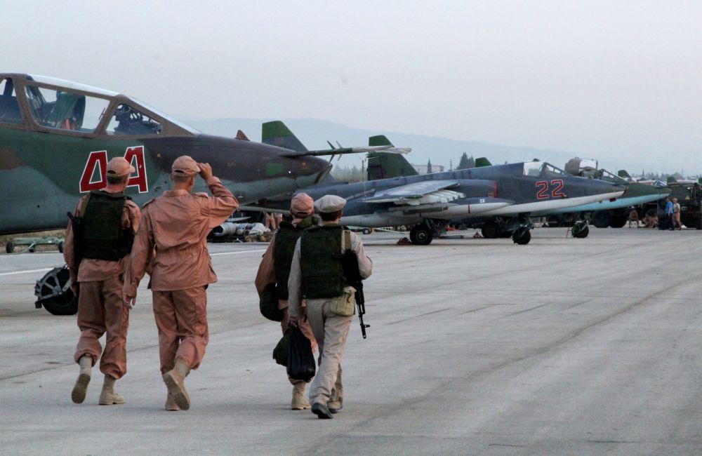 Ruské vojenské letectvo v Sýrii