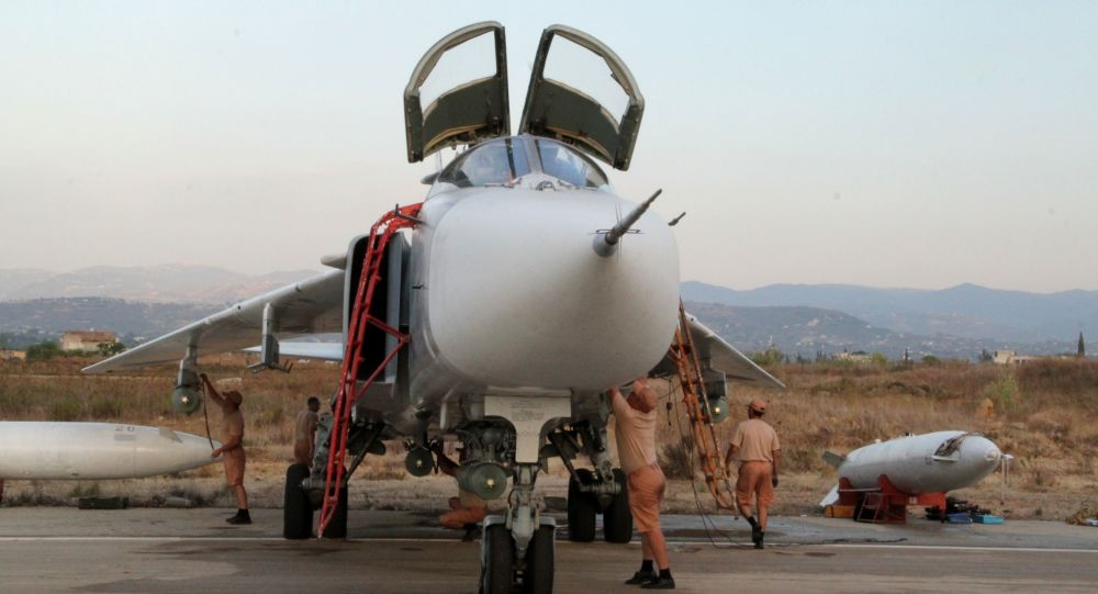 Ruské Su-34 zasazovaly bodové údery po cílech z výšky přes 5 tisíc metrů