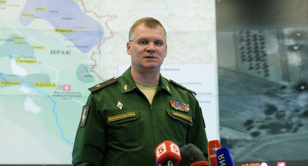 Generál-major Igor Konašenkov