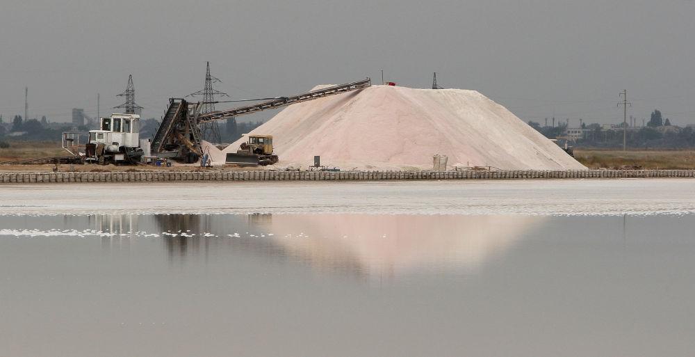 Krym: jak se vyrábí sůl