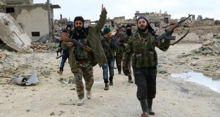 Syrská opozice vedle Aleppo