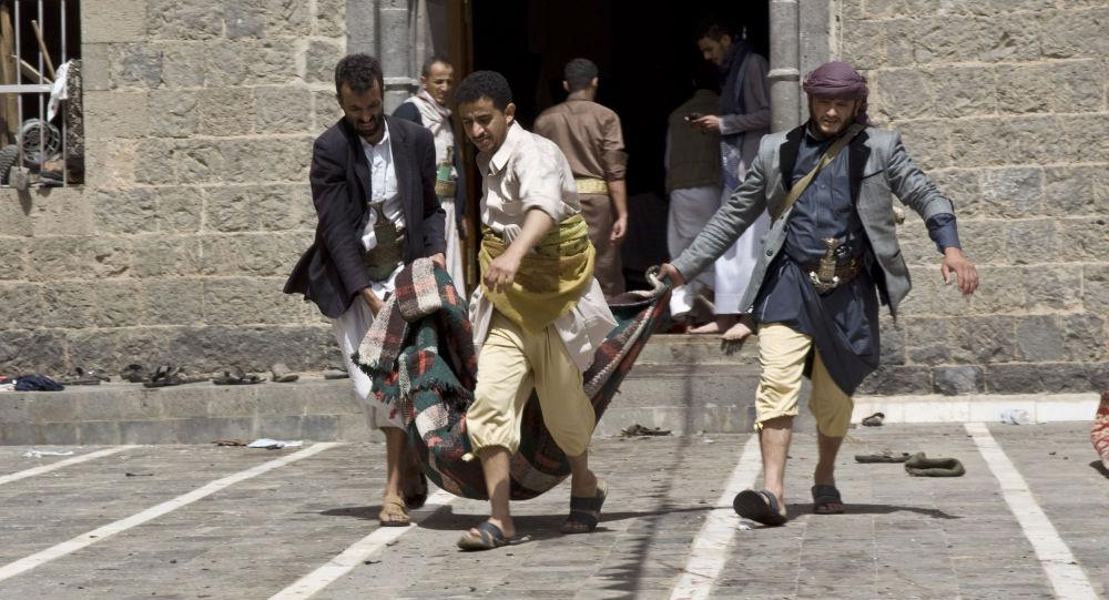 Exploze v jemenské mešitě