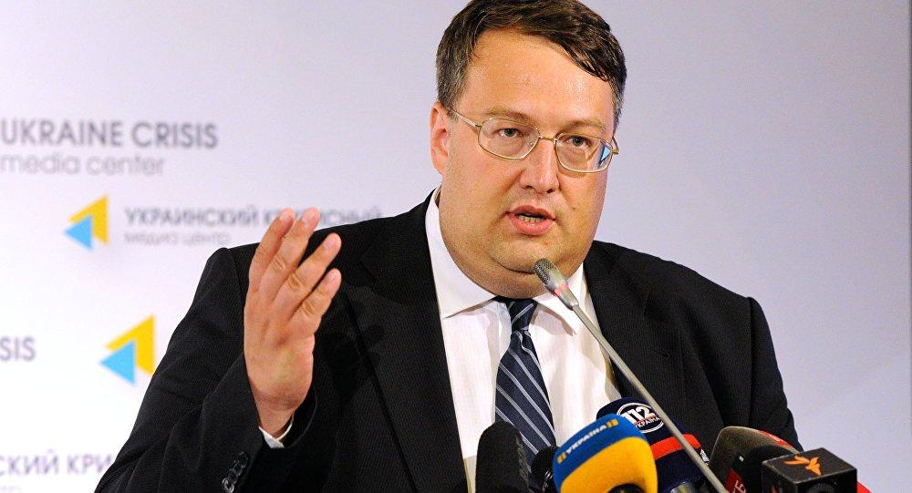 Poradce ministra vnitra Ukrajiny Anton Heraščenko