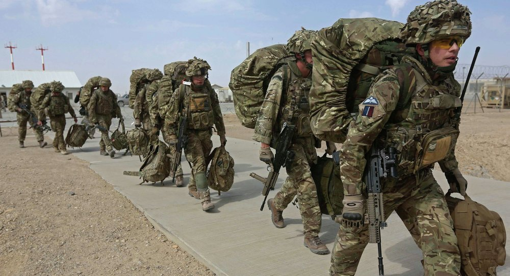 Britští vojáci