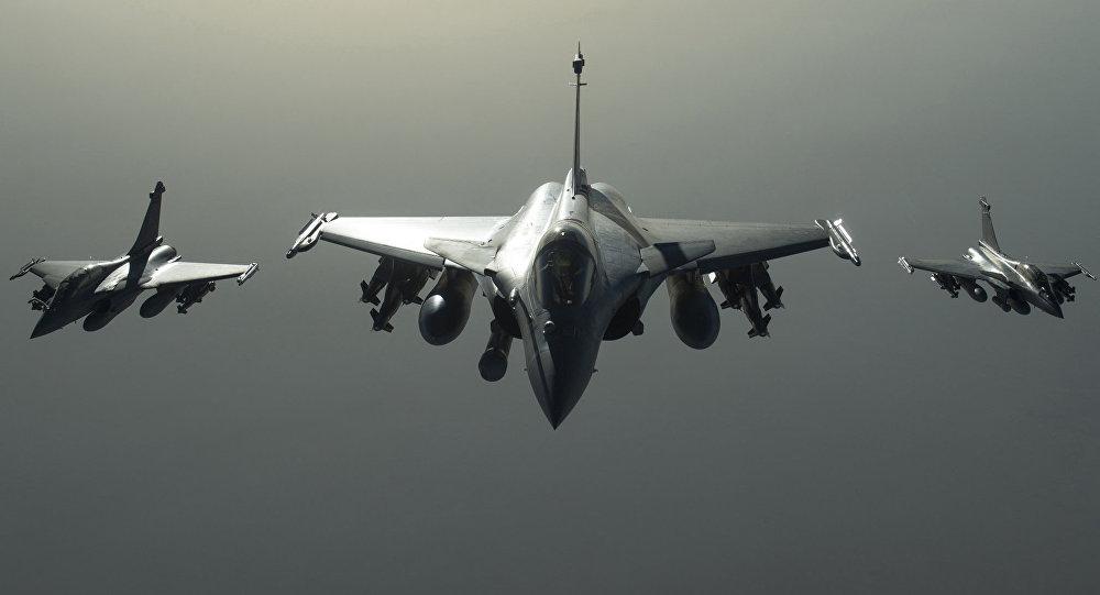 Francouzské stíhací letouny Rafale