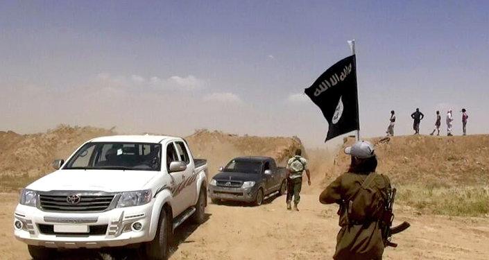 Toyoty Islámského státu