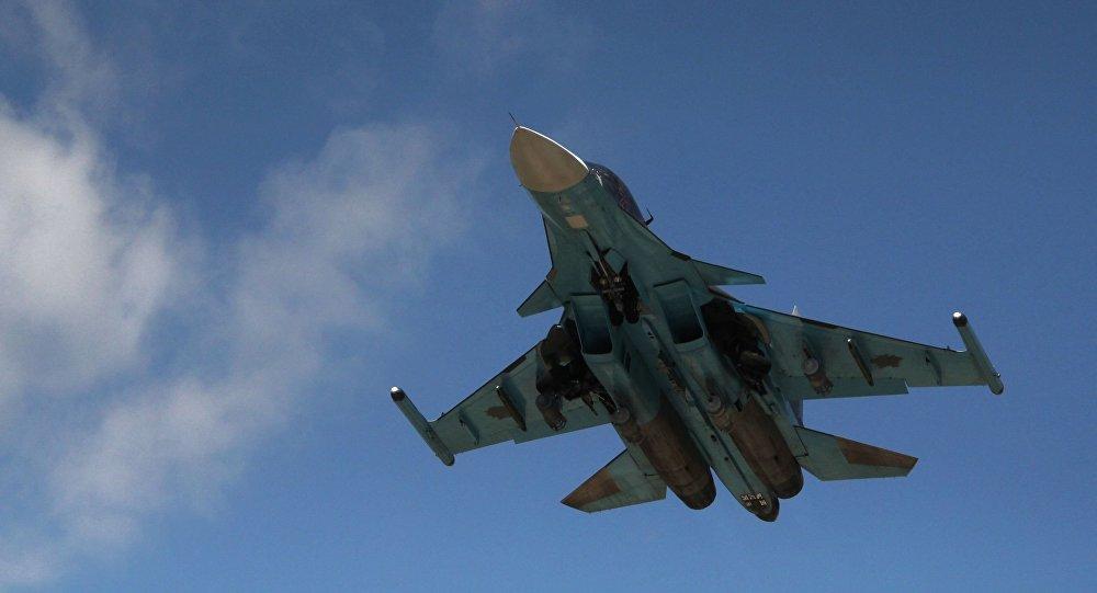 Stíhačka Su-34