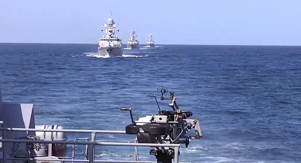 Lodě vojenské flotily