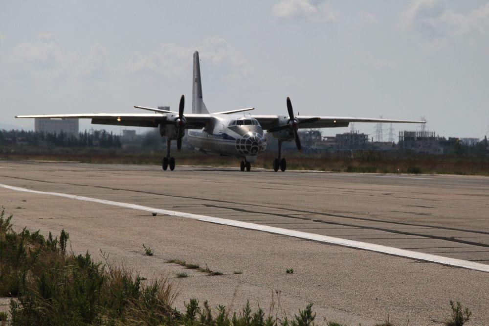 Ruská letadla na letišti v Lázikíji