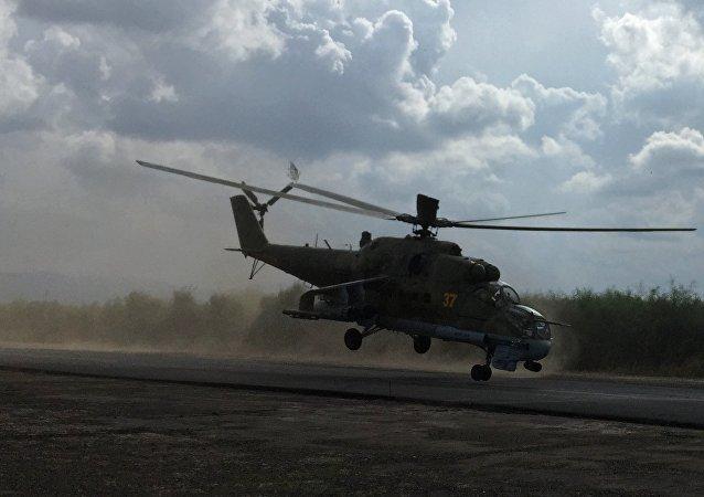Mi-24 v Sýrii