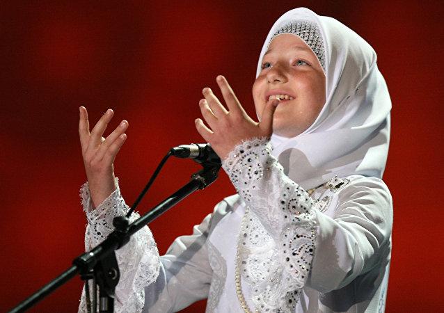 Kadyrovova dcera Chutmat