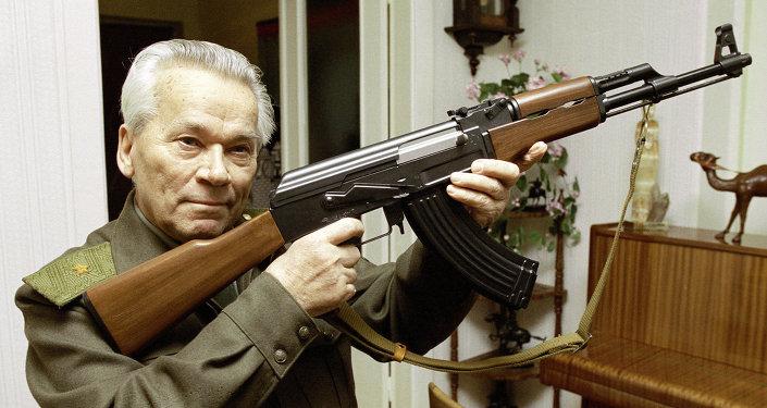Mikhail Kalašnikov, konstruktér legendárního samopalu AK-47