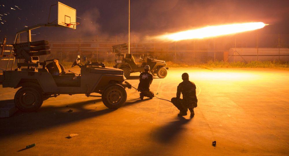 Iráčtí šiítští bojovníci
