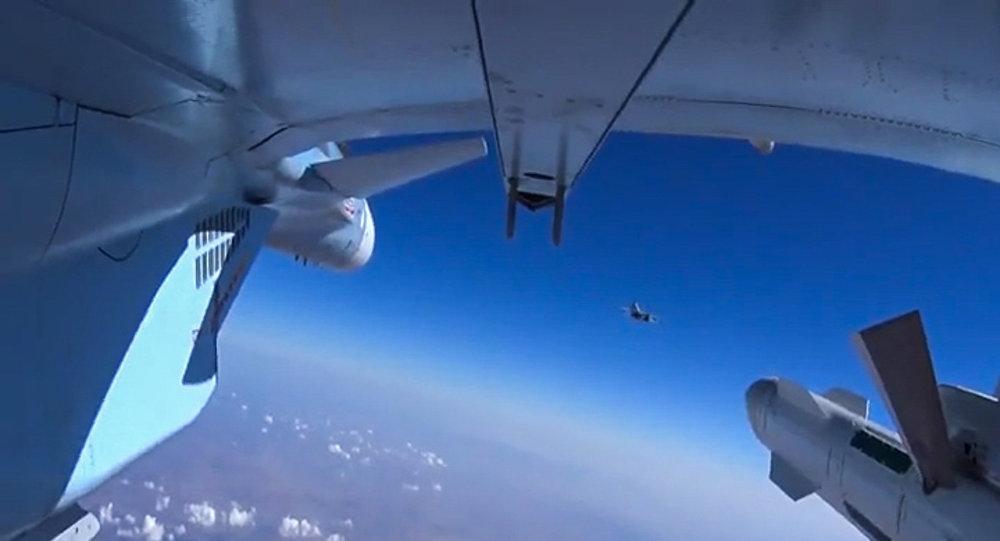 Letecké útoky ruského letectva v Sýrii