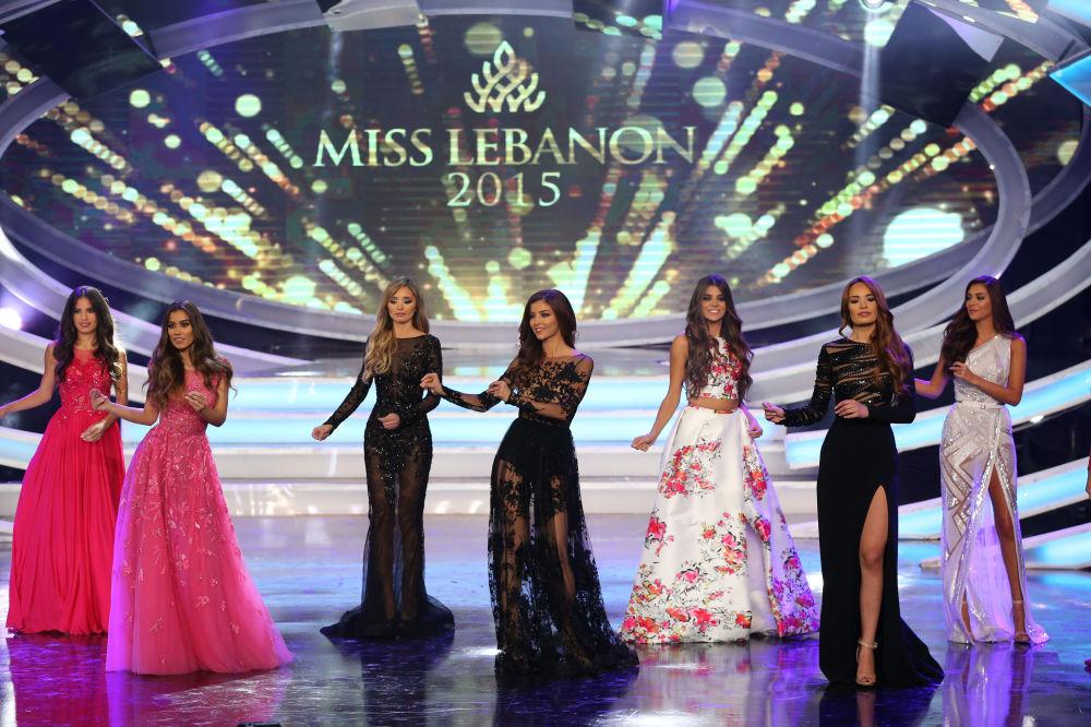 Krása Blízkého Východu: Miss Libanon 2015
