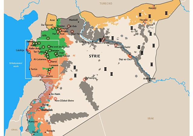 Letecké údery Ruska na pozice IS v Sýrii