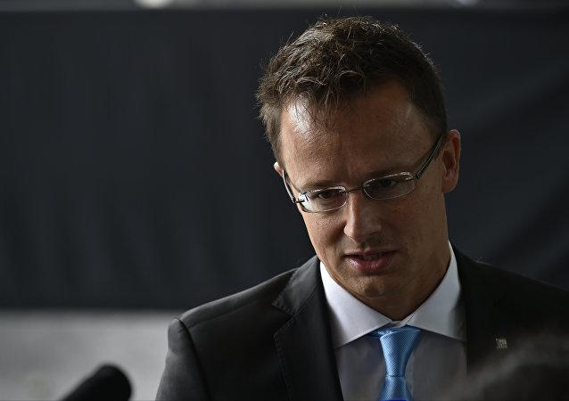 Ministr zahraničí Maďarska Péter Szijjártó