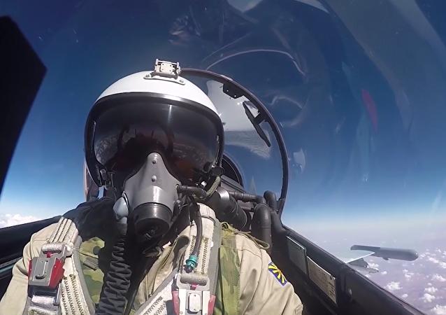 Den ze života ruského letce v Sýrii
