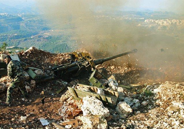 Pozice syrské armády