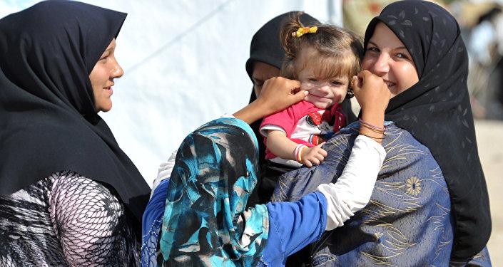 Uprchlický tábor v Lázikíji