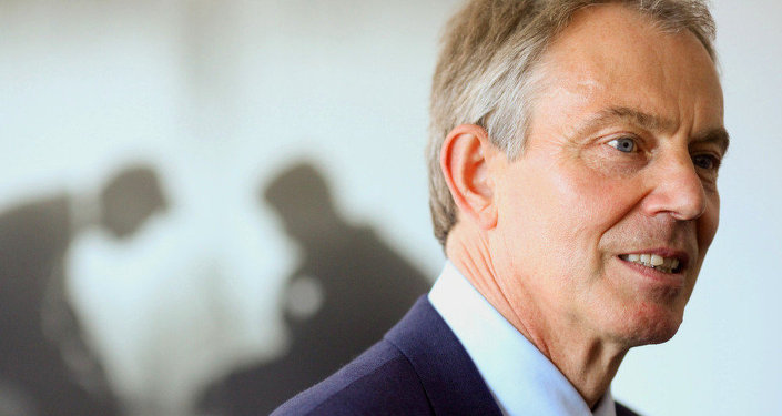 Ex-British PM Tony Blair