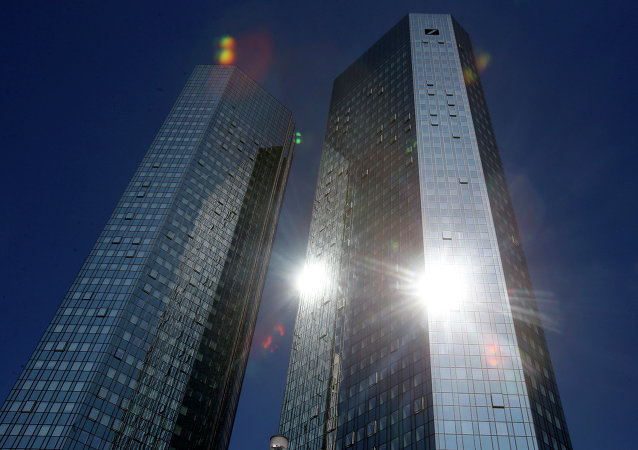 Deutsche Bank, hlavní stan.