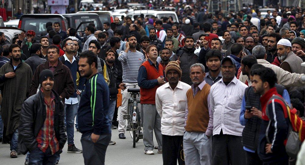 Evakuace v Srinagaru kvůli zemětřesení