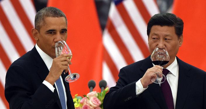 Barack Obama a Si Ťin-pching