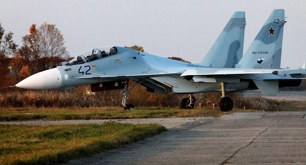 Su-30M2 fighter