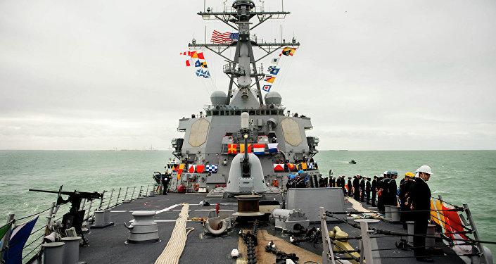 Americký torpédoborec Donald Cook
