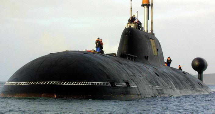 Ruská ponorka Vepr