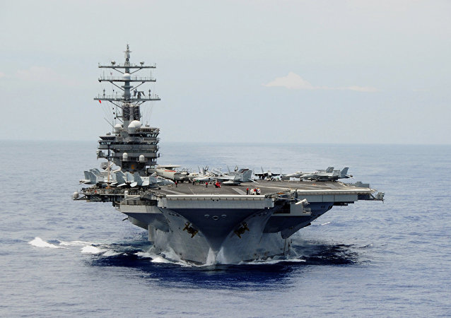 Letadlová loď USA Ronald Reagan