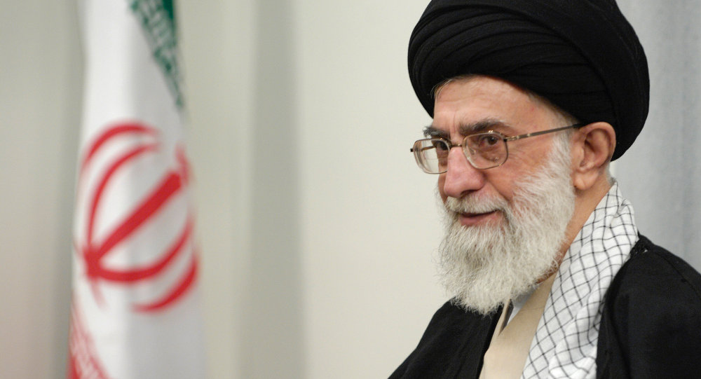 Íránský duchovní vůdce Ali Chamenei