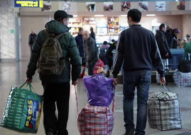 Ukrajinští běženci