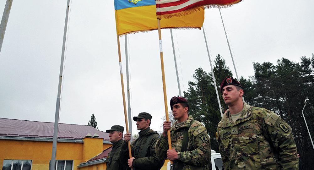 Cvičení vojsk USA a Ukrajiny