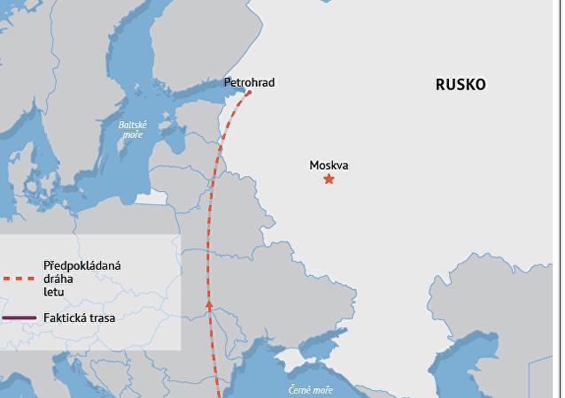 Havárie ruského letadla v Egyptě